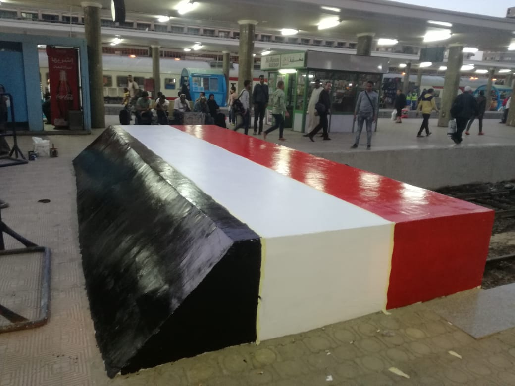 شاهد - وزارة النقل تنتهي من تجديد موقع حريق محطة مصر