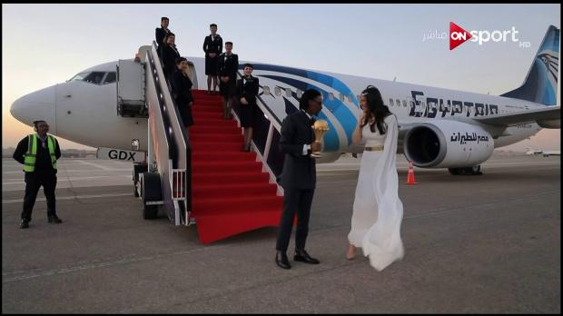 فخر العرب الحقيقي .. ننشر أجمل صور هاجر أحمد بطلة واقعة قرعة كأس الأمم الأفريقية - أتفرج