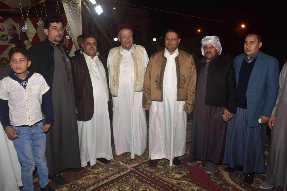 برعاية قبيلة العشيبات - مؤتمر حاشد للقبائل البدوية تأييدا للتعديلات الدستورية
