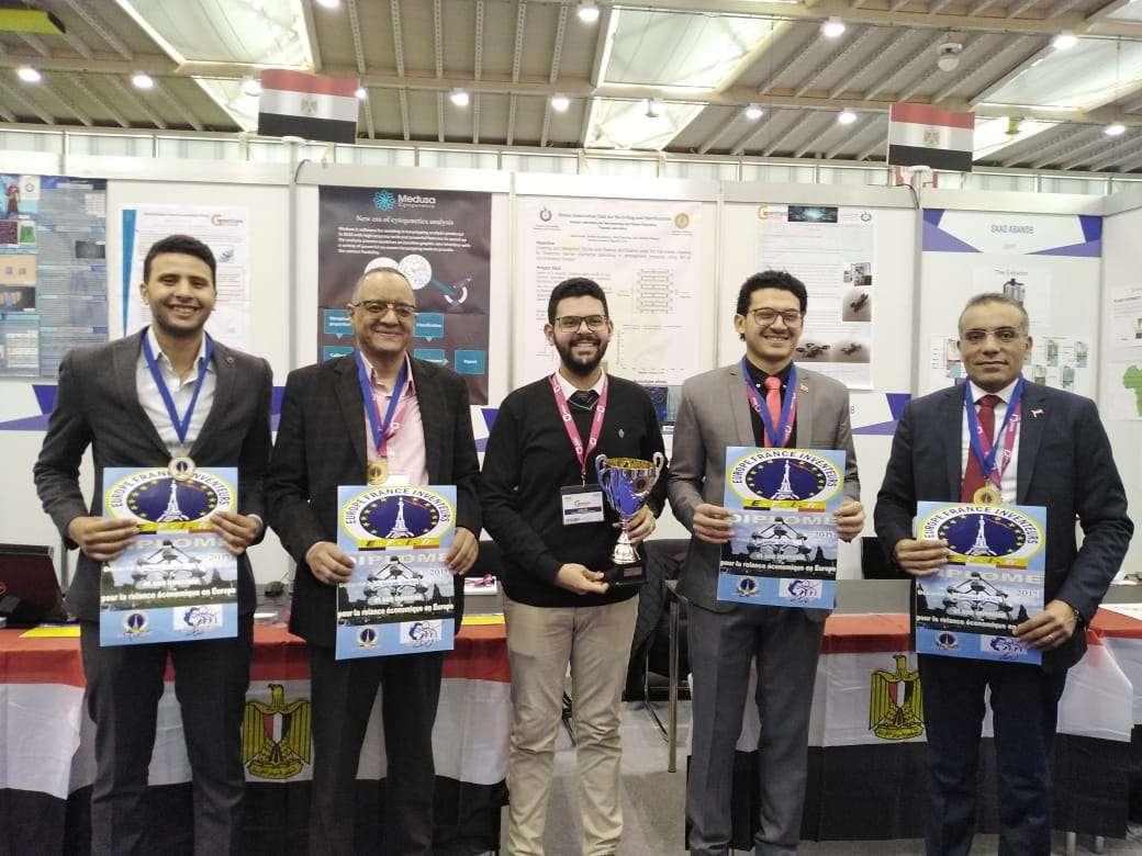 مصر تحصد الذهب والفضة والبرونز بمعرض جنيف الدولي للاختراعات 2019