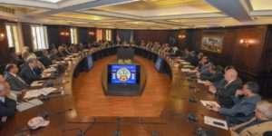 قنصوة يناقش استعدادات الإسكندرية للتعديلات الدستورية ٢٠١٩