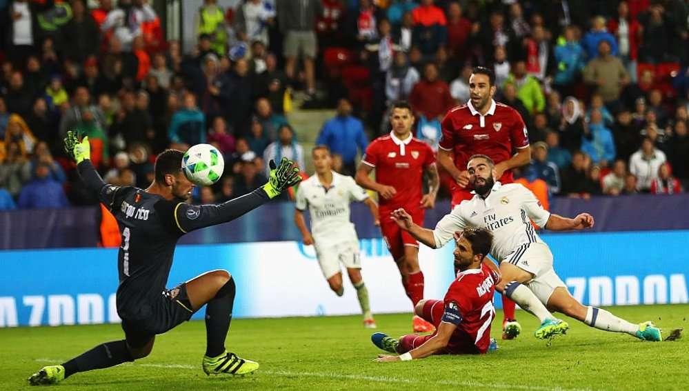 الليلة - ريال مدريد ضيفاً ثقيلاً على إشبيلية بالدوري الإسباني