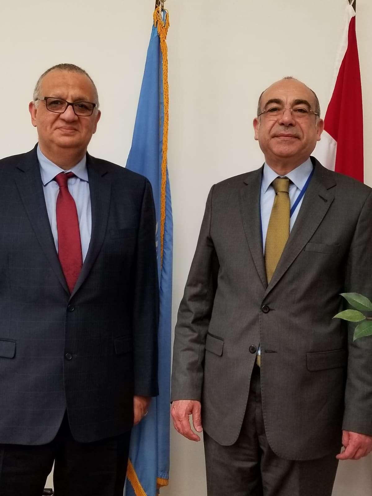 حوار شامل مع السفير محمد إدريس رئيس البعثة المصرية بالأمم المتحدة