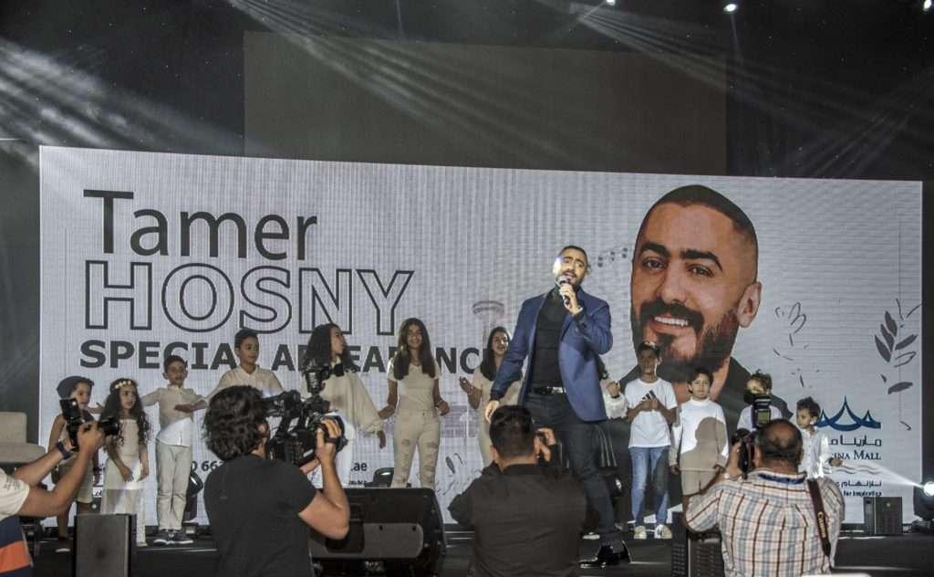 ضربة قوية لعمرو دياب: تامر حسني أكثر فنان مؤثر في العالم