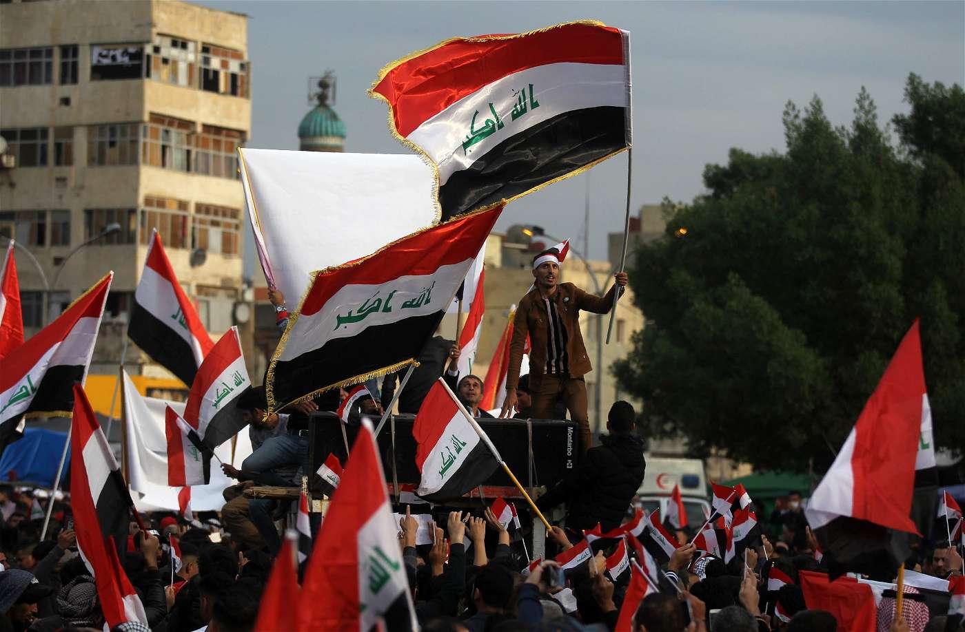 برهم صالح: عصابات وميليشيات هى المسؤولة عن قتل المتظاهرين ببغداد
