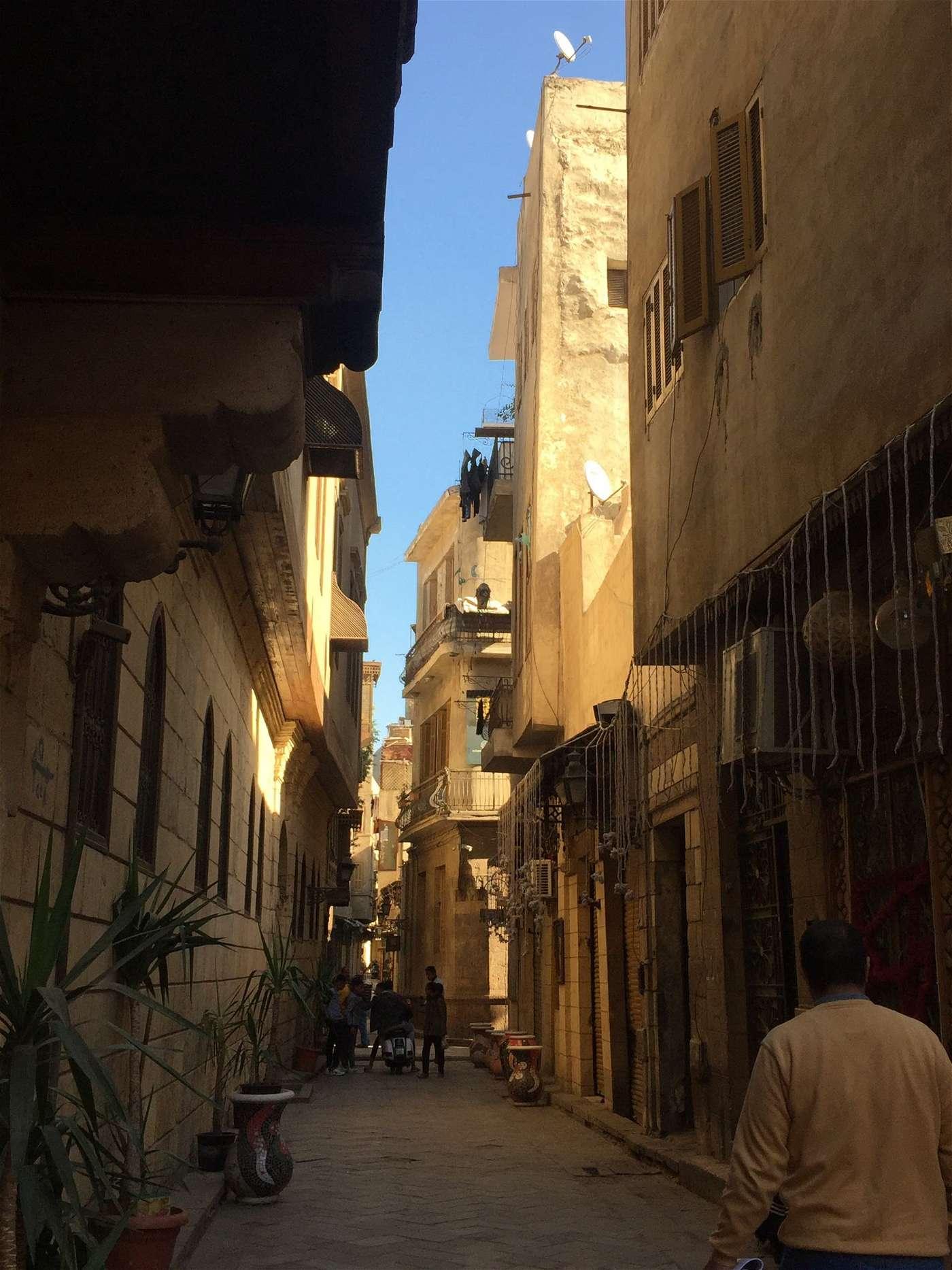 شارع مصري عمره 1000 عام