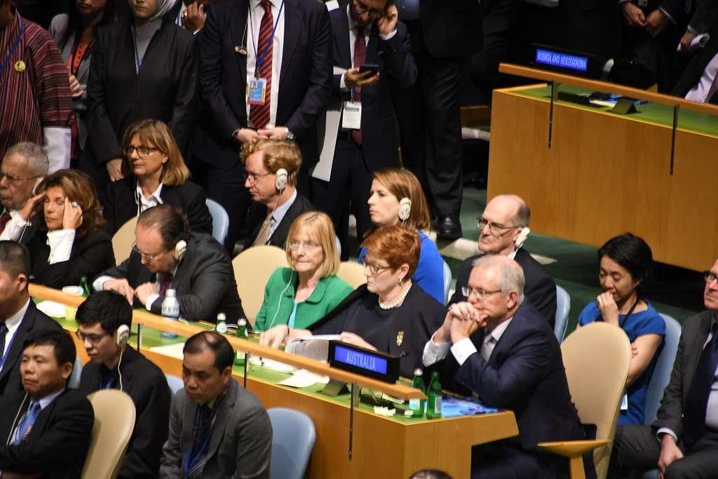 بالصور.. كلمة الرئيس النيجيري أمام الجمعية العامة للأمم المتحدة