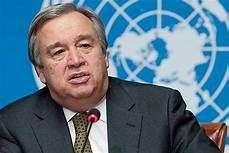 رسالة الى الامين العام للامم المتحدة انطونيو غوتيرس