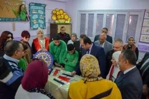 نائب محافظ الإسكندرية يفتتح غرف تعلم الدمج ب٣ مدارس