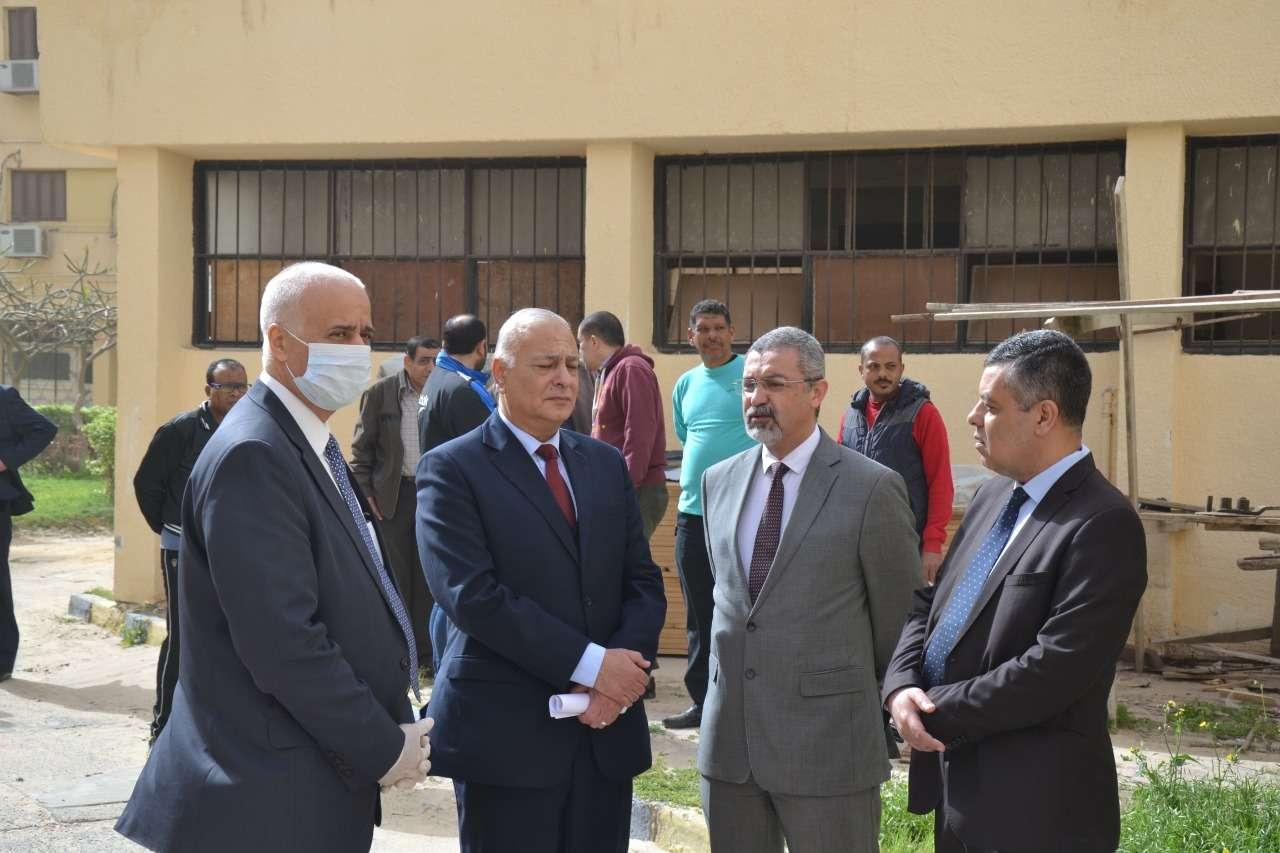 المدن الجامعية بالإسكندرية مستعدة للعزل الصحى