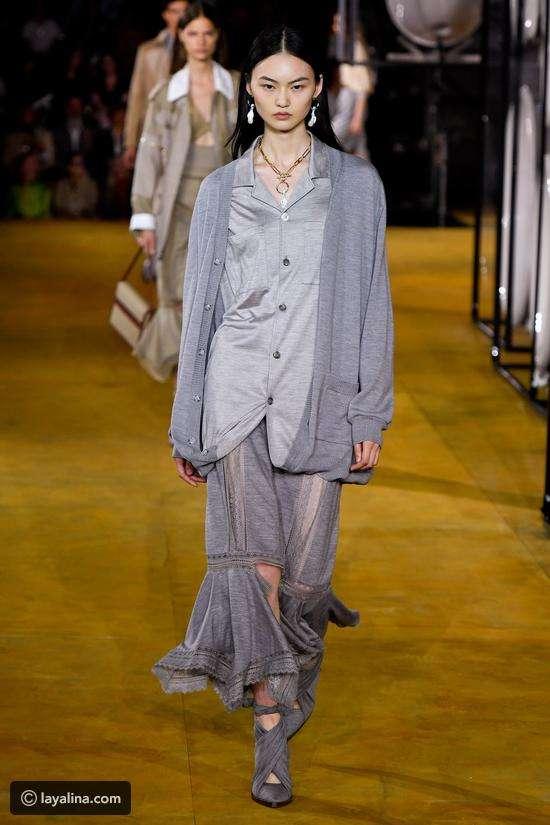 أزياء مستوحاة من البيجامات وملابس البيت ظهرت في عروض أزياء ربيع 2020