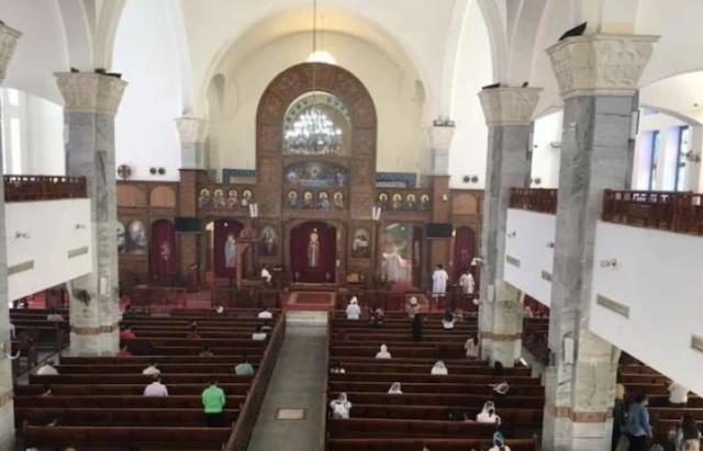 خمس قداسات في اليوم الواحد في كنائس الغردقة