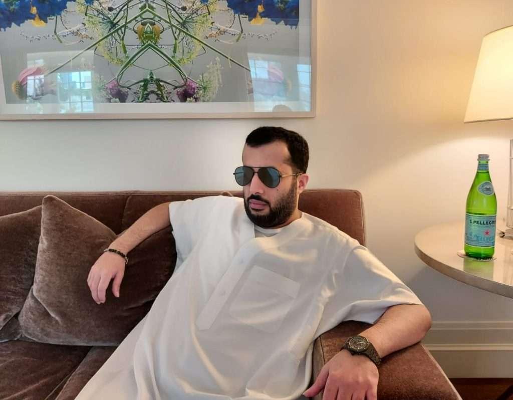جناح تركى آل الشيخ في مستشفى نيويورك شمس أوي ... حتى شوفوا