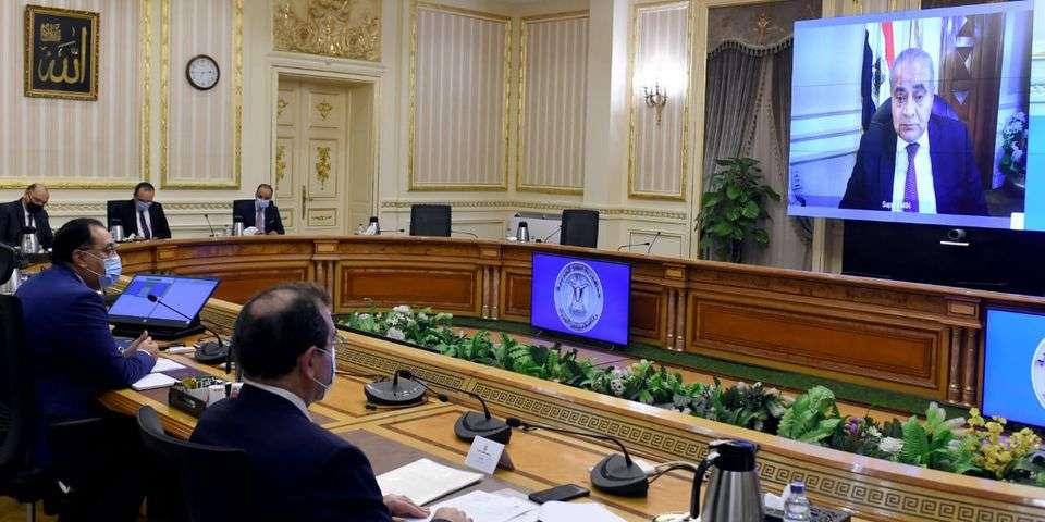مدبولي و 9 وزراء يبحثون فرص دعم التعاون بين مصر والأردن والعراق