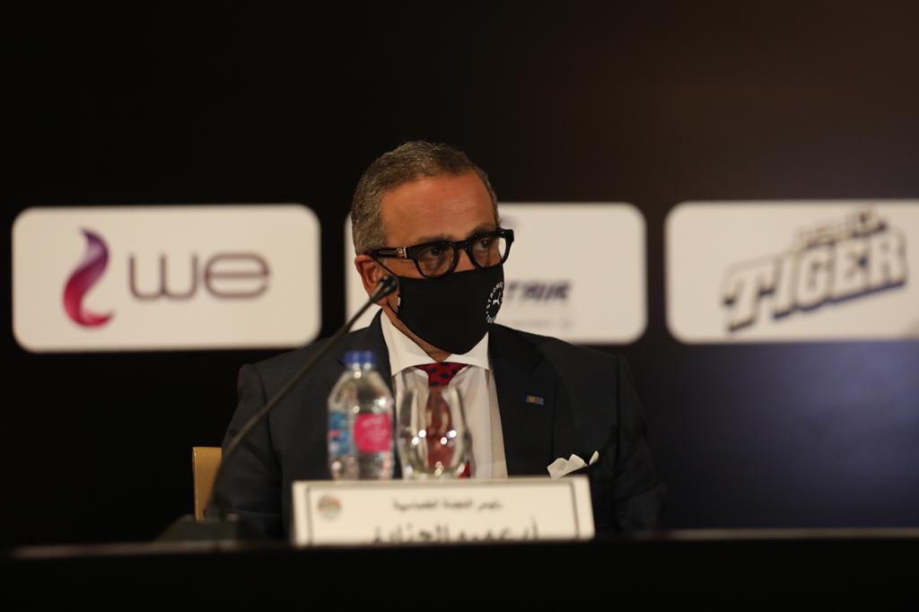 شاهد.. كواليس المؤتمر الصحفي للدورة الدولية للمنتخبات الأولمبية