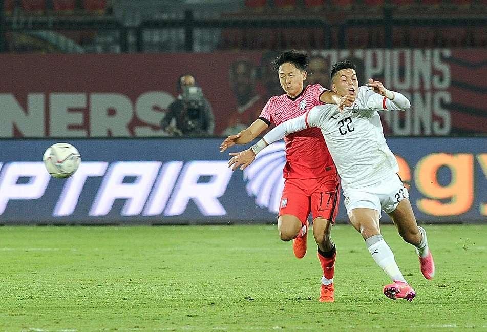 المنتخب الأوليمبي يكتفي بالتعادل السلبي أمام كوريا الجنوبية
