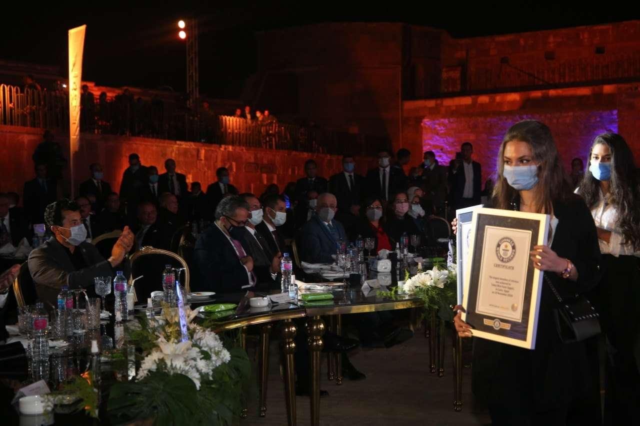 وزير الشباب يشارك في احتفالية صندوق تحيا مصر