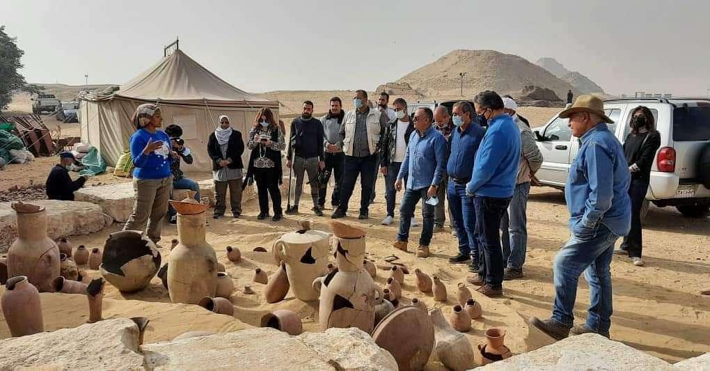 مصر تعلن عن كشف أثري كبير بمنطقة سقارة - صور