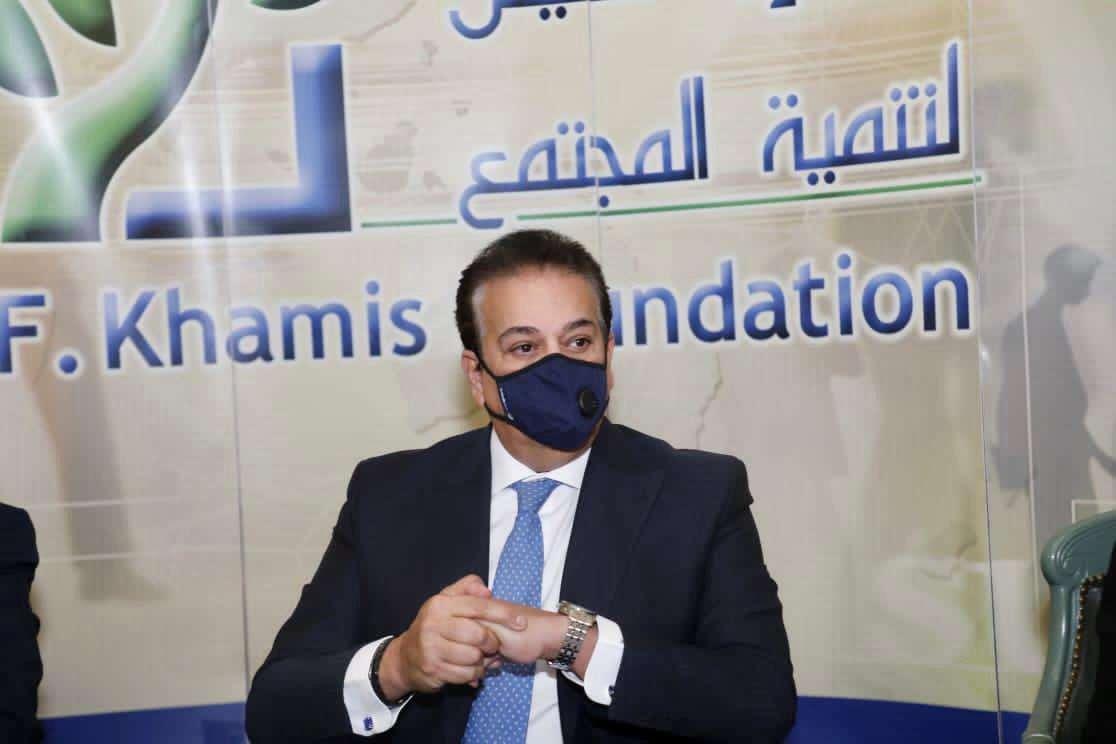 صور.. مؤسسة فريد خميس لتنمية المجتمع تحتفل بأوائل الثانوية