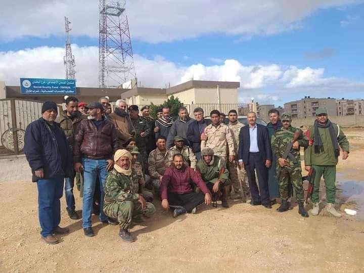 قوات الجيش الليبي