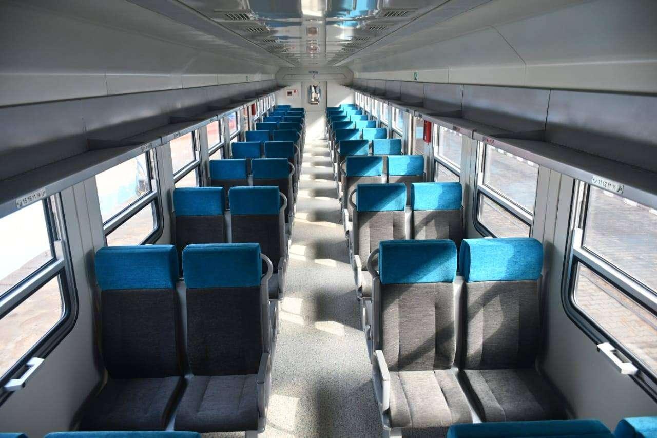 مبرووك: وصول 22 عربة سكة حديد جديدة للركاب إلى ميناء الإسكندرية