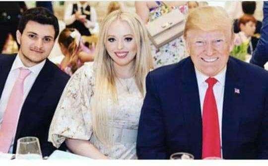 سناكيح واشنطن يشاهدون فرح بنت ترامب بغيظ شديد