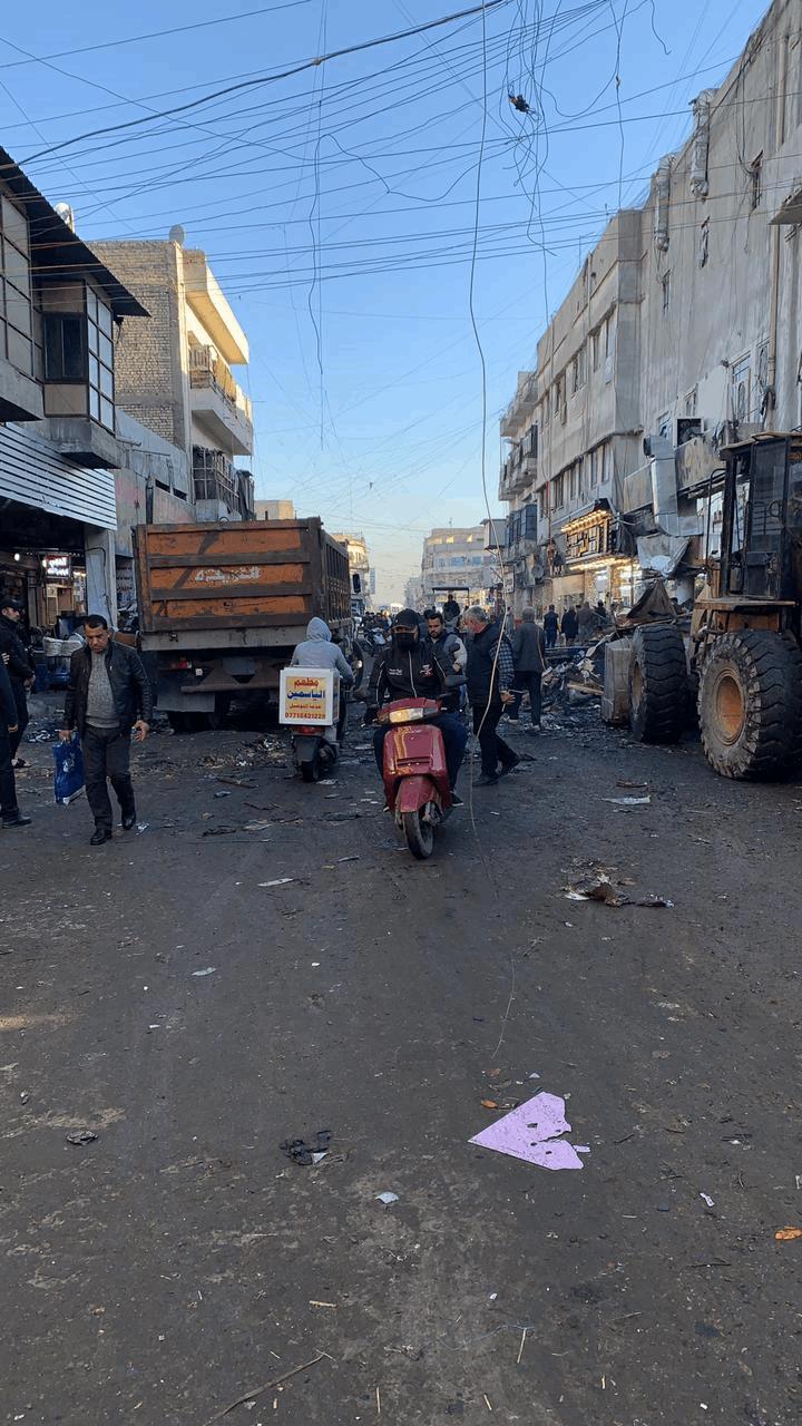 عمليات بغداد تفتح شارع الصدرية بعد غلقه 10 سنوات.. صور