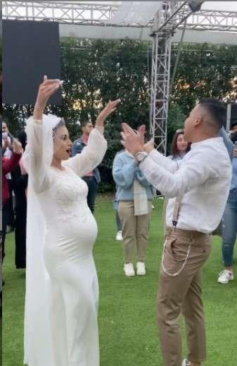 حقيقة حفل زفاف العروس الحامل.. وانتوا مالكم يا ناس يا شر