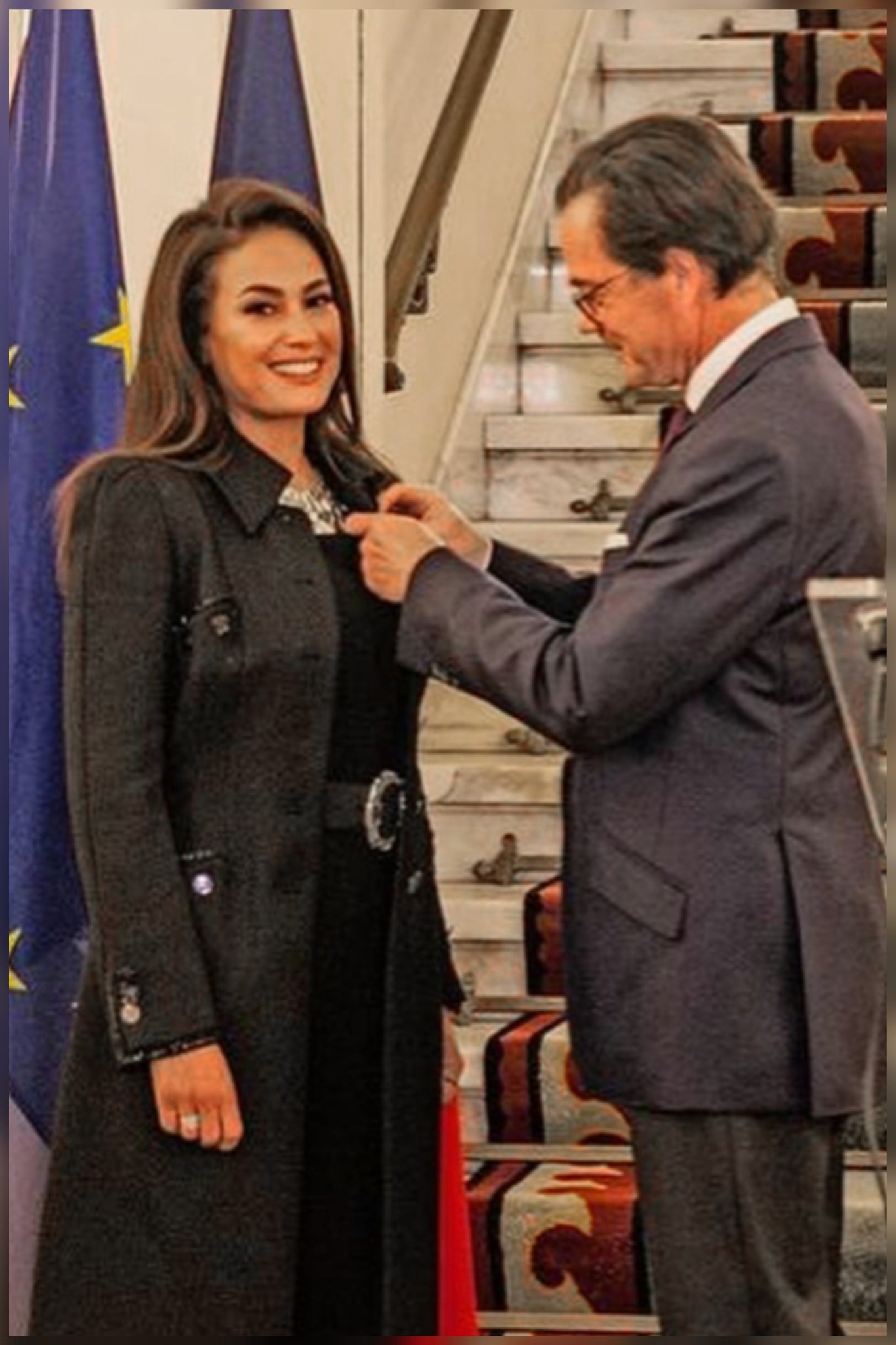 هند صبري تحصل على وسام الفنون والآداب الفرنسي