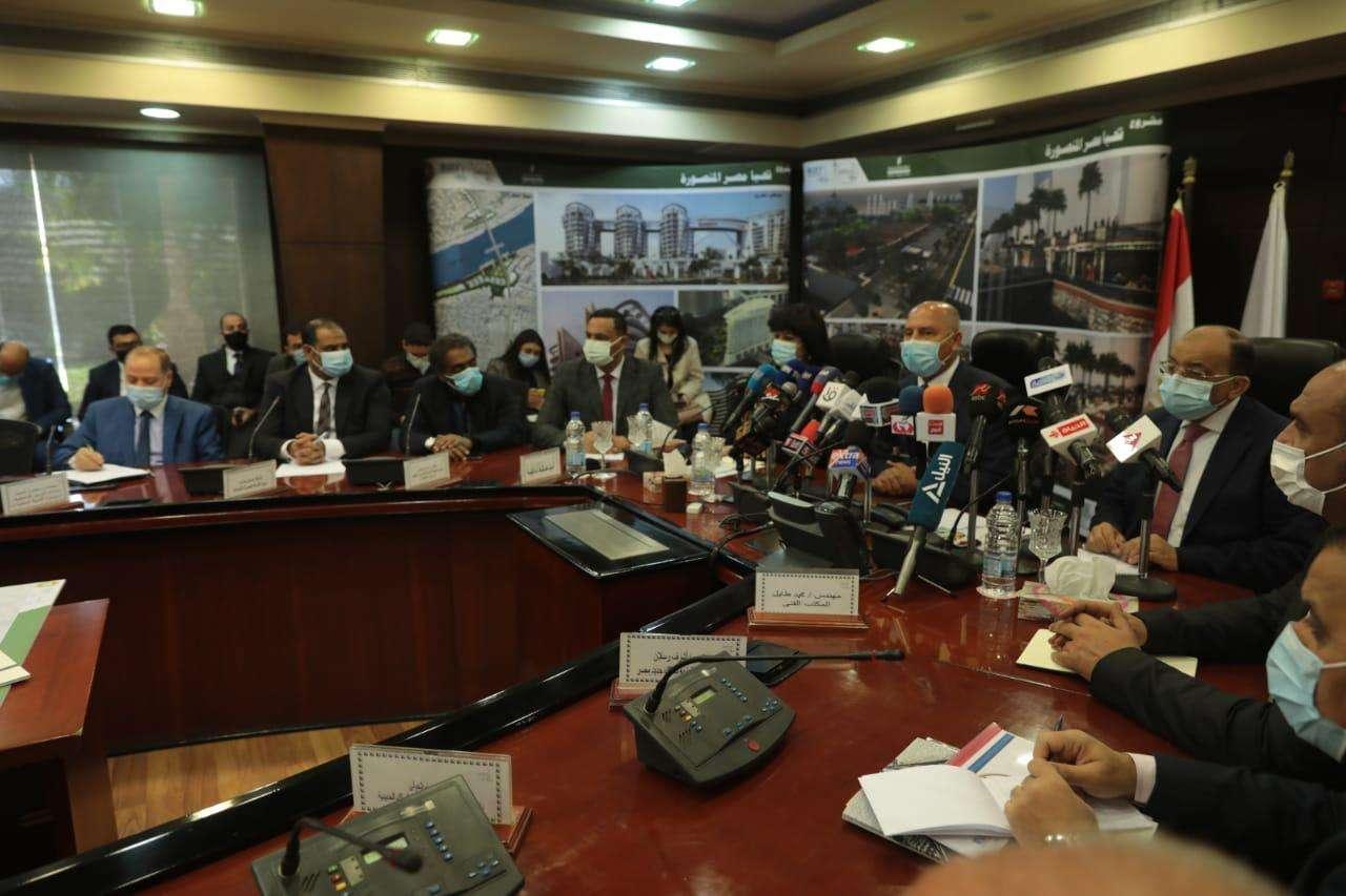 كامل الوزير يزف المنصورة على 4 مشروعات جديدة