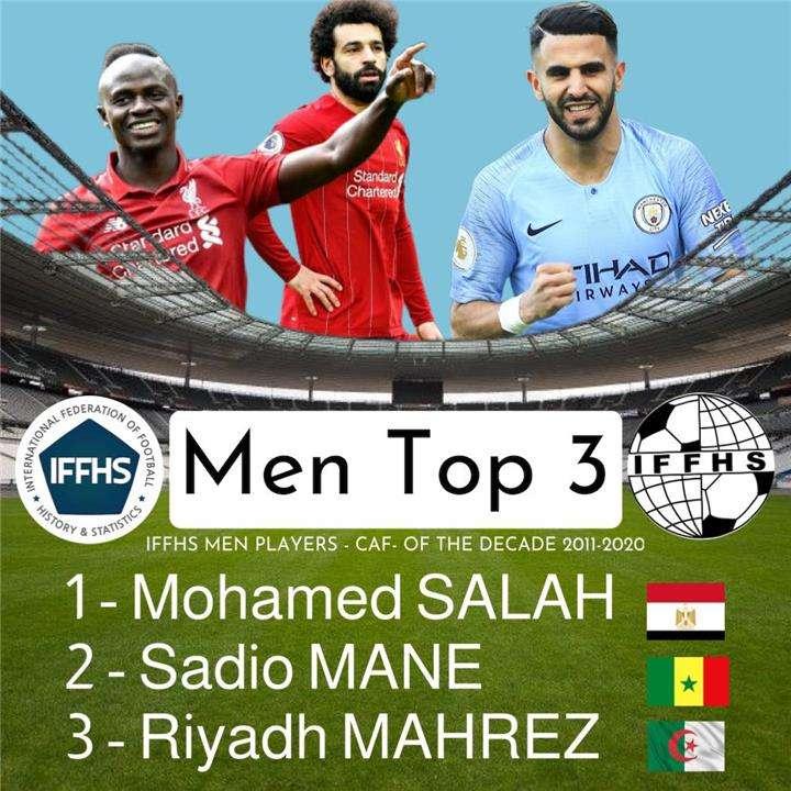 صلاح أفضل لاعب إفريقي بالعقد الأخير من القرن الـ21
