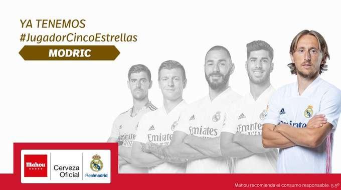 مودريتش يحصل على جائزة جديدة في ريال مدريد