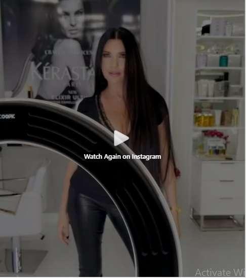 بالفيديو - لاميتا فرنجية تظهر بقميص النوم أمام الجمهور