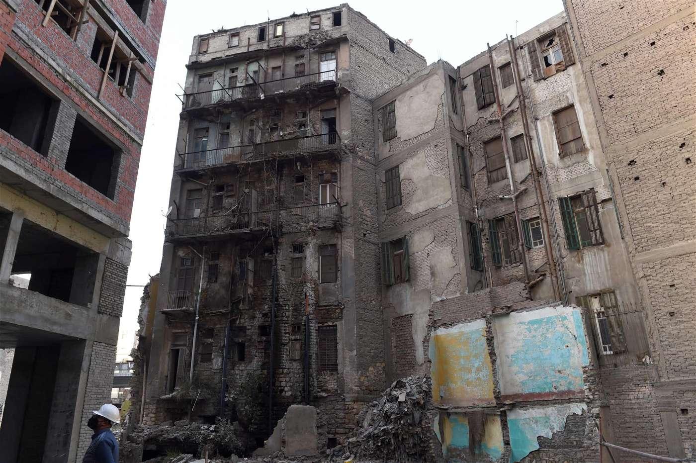 الذين يتباكون علي عمارات ماسبيرو الثمانية: تعالوا اتفرجوا على المداخل والشكل الخارجي