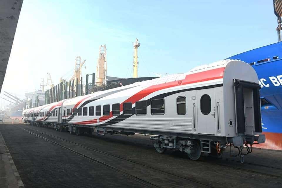 كفر الشيخ نورت بالقطار الروسي