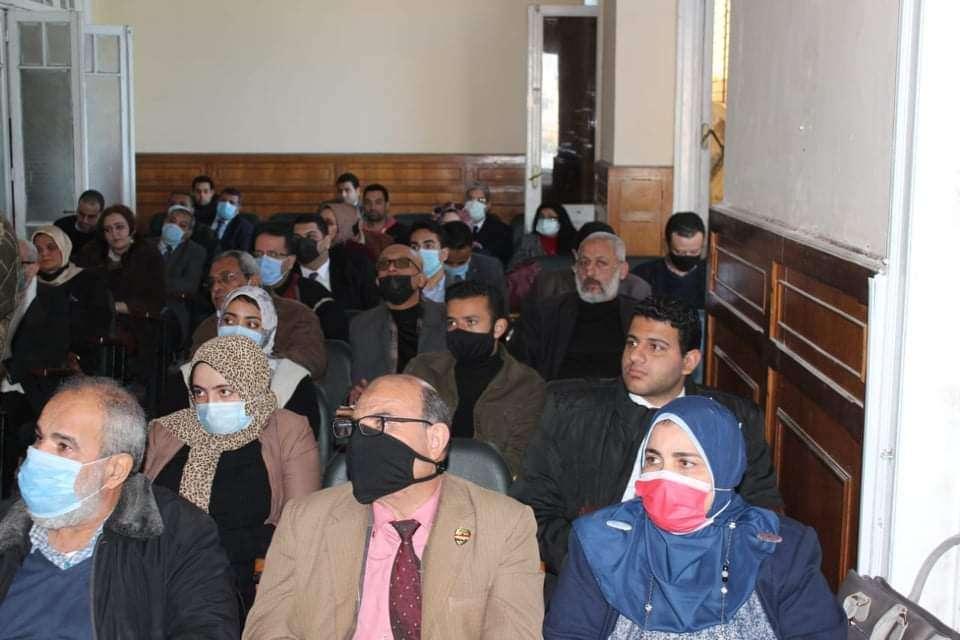 ندوة بمحامين إلاسكندرية حول ملأ الاقرارات الضريبة اليكترونيا