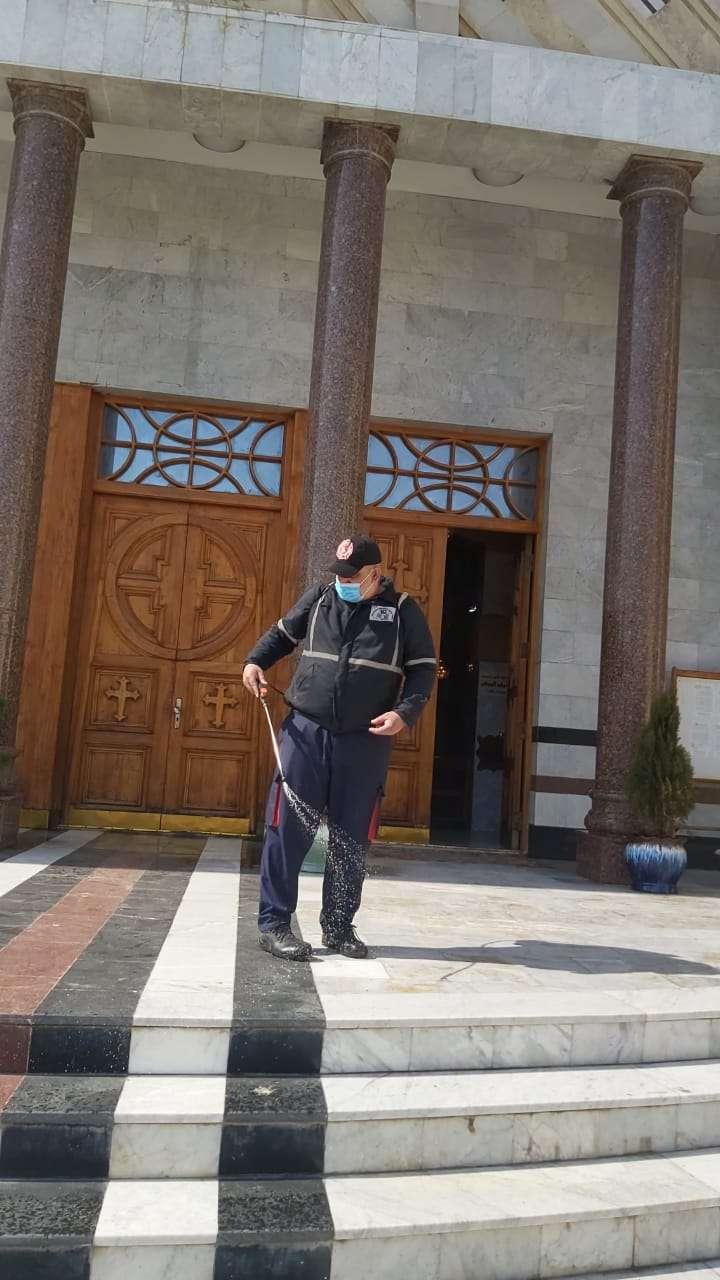شاهد استعدادات الكنائس العراقية لزيارة البابا.. صور