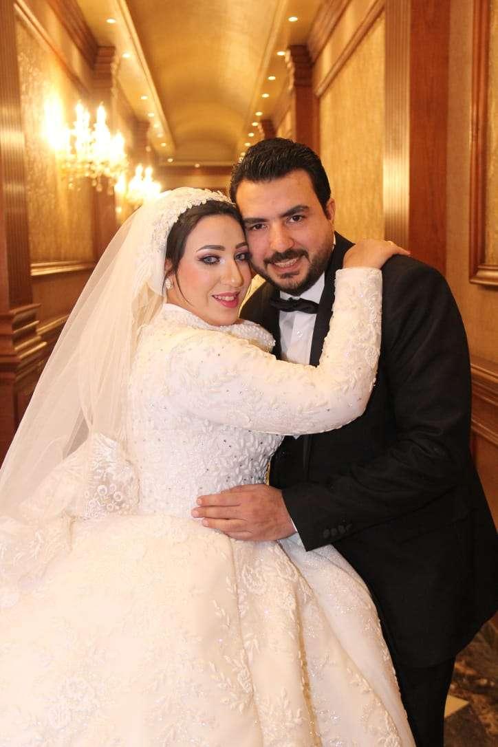 أحدث عرايس البشاير: الزميلة أميرة علي والمحاسب عمرو محمد