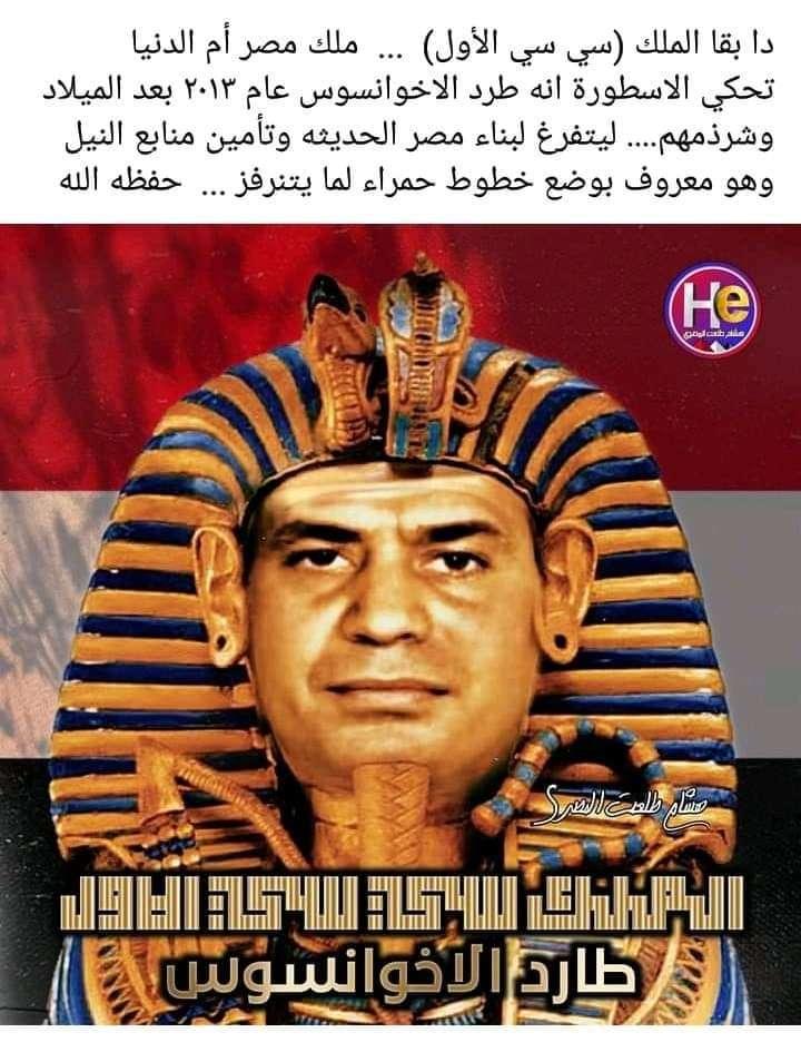 الملك سي سي الأول .. الذي قضي علي الإخوانسوس