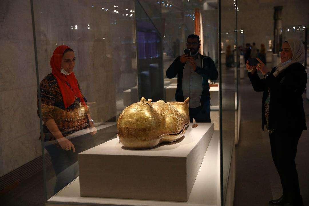 اتفرج.. المتحف القومي للحضارة يفتح ابوابه للزوار