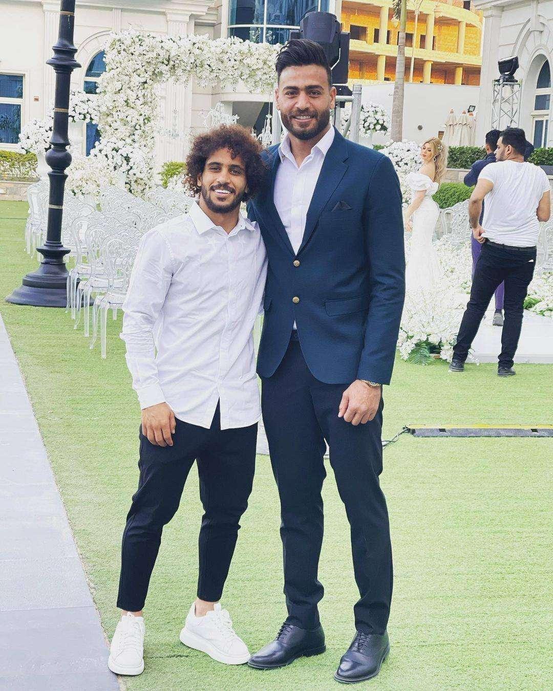 اتفرج.. حارس الزمالك يتزوج ملكة جمال العرب