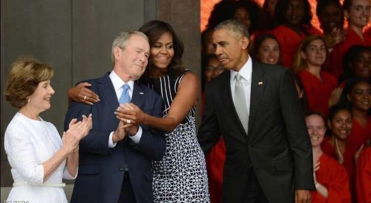 زي ما أنت شايف - علاقة حب بين زوجة أوباما وبوش الإبن