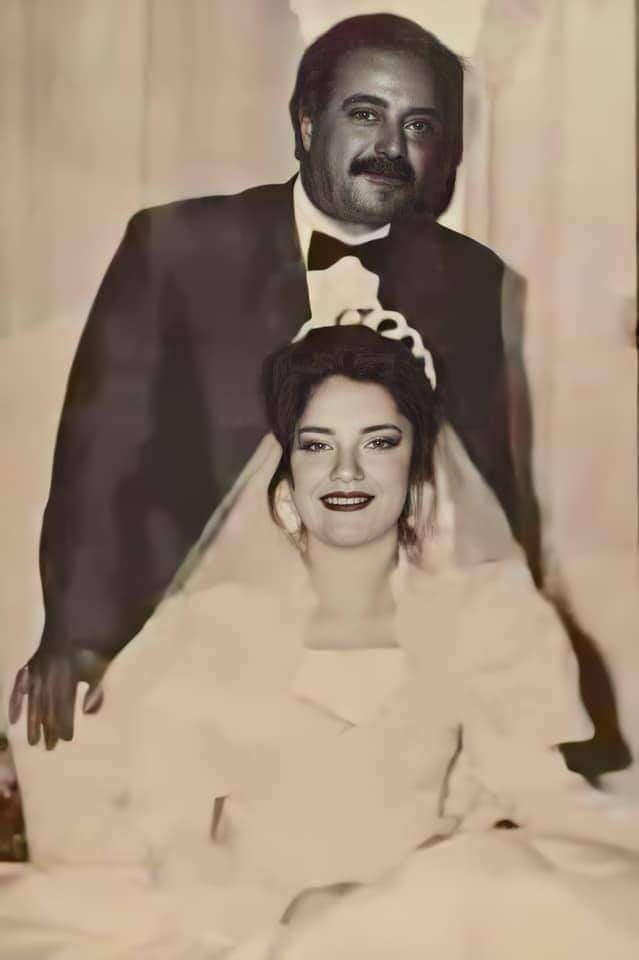 صورة هتشوفها لأول مرة : سيناء بنت يوسف شعبان يوم زفافها