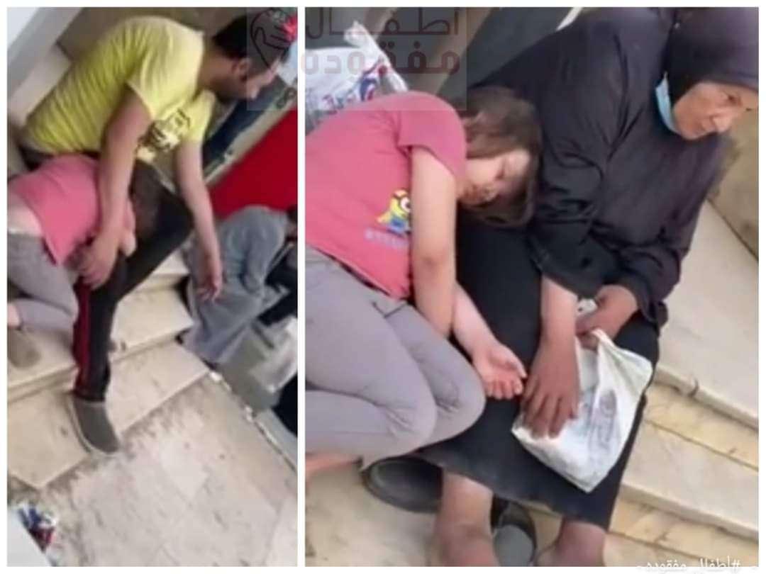 العثور علي طفله متخدرة مع متسولة في الدقهلية .. ساعد في عودتها لأهلها