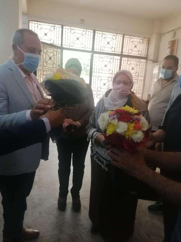 تطعيم نزلاء دور رعاية المسنين بلقاح كورونا في نبروه.. برافوا