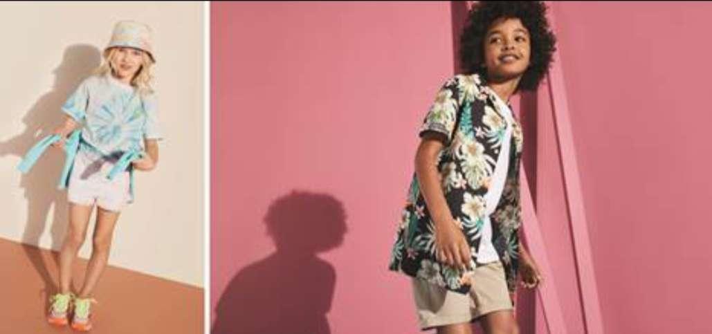 بالصور..ماركس وسبنسر تطلق تشكيلة أزياء الأطفال لموسم صيف 2021