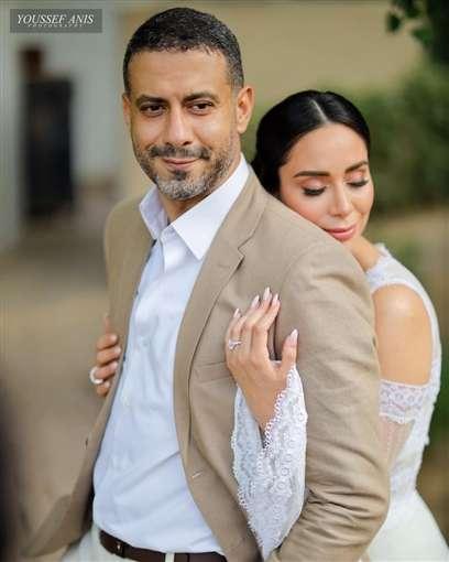 جبنالك الصور الأولي من عقد قران بسنت شوقي ومحمد فراج - إتفرجاج