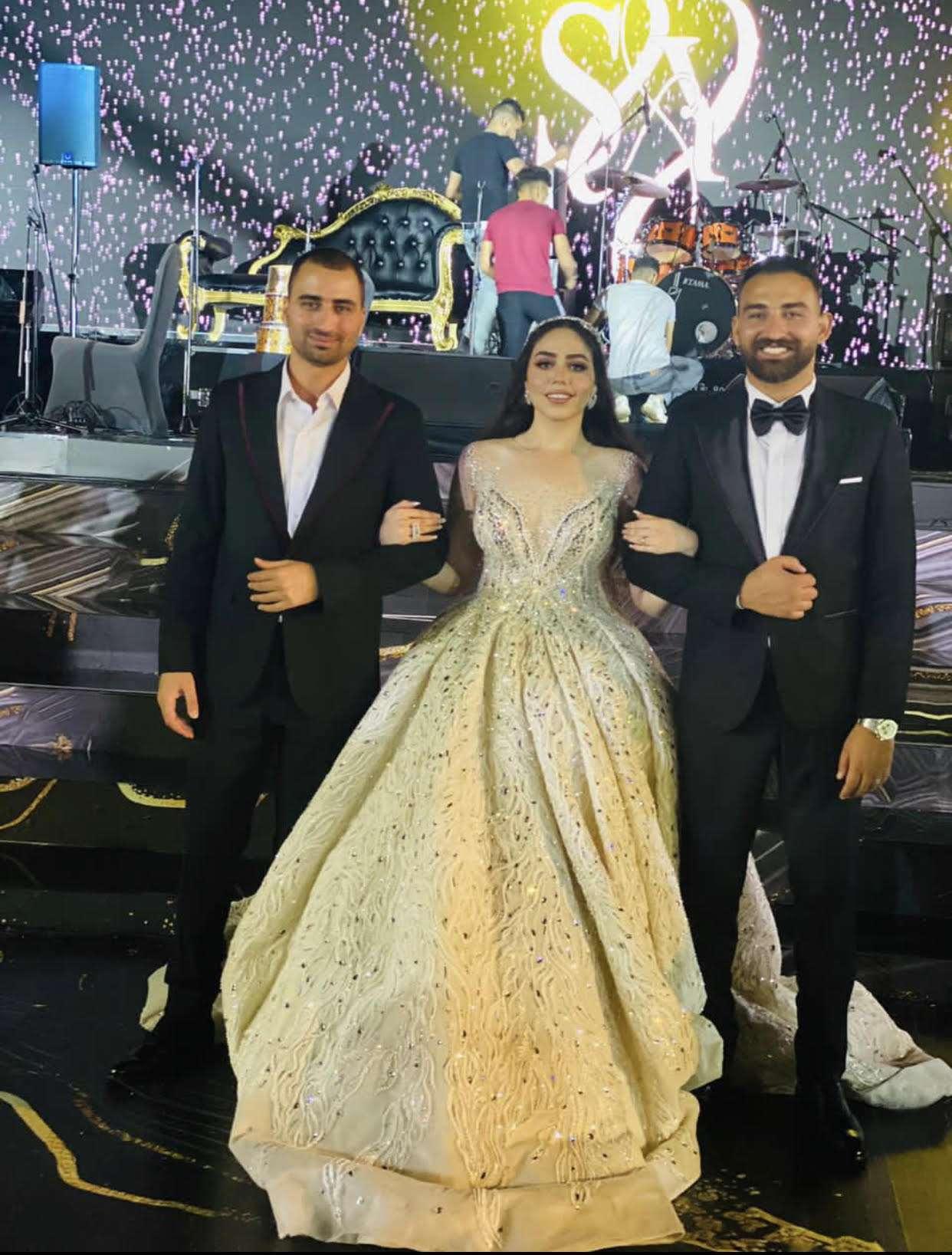 بالصور - بوسي تتألق في حفل زفاف شقيق عضو مجلس أمناء جامعة مصر
