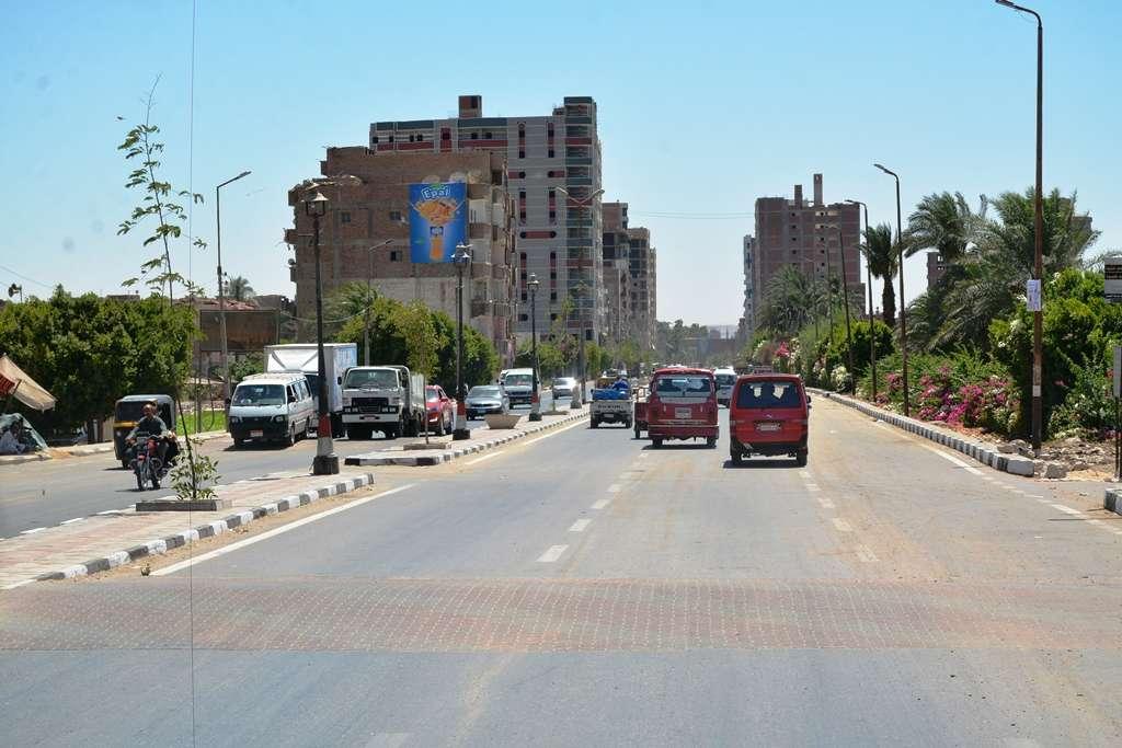 طريق أخميم سوهاج شكل تاني بعد التطوير.. شوف بنفسك