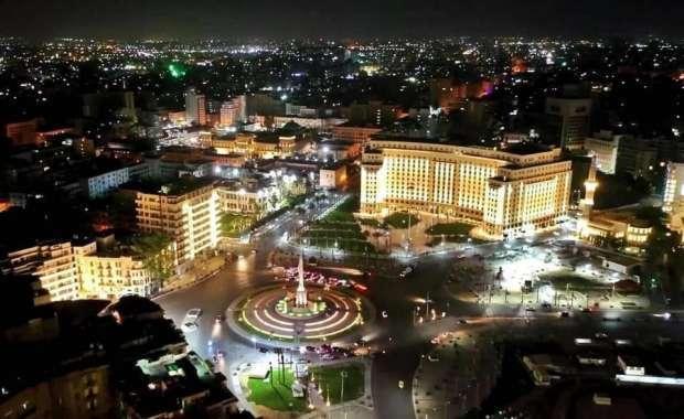 تعالوا شوفوا السيسي عمل ايه في ميدان التحرير